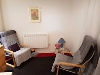 Therapy room for rent in a quiet riverside location in City Centre - £10 Per Hour - Disabled Access