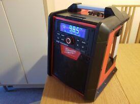 Milwaukee 18v-240v M18RC-0 Jobsite Radio Charger