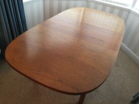 Retro Mid Century G Plan Teak Large Extendable Dinning Table