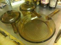 Retro VISION Glass Cookware