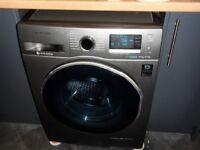 Washer/Dryer - SAMSUNG Ecobubble 9KG Model : WD90J6410AX