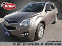 2012 Chevrolet Equinox LT AWD - Pwr Seat, Heated Seats, Alloys