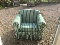 Arm chair . Laura Ashley with loose cover.