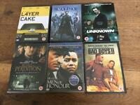 A selection of DVD's £1.00 each