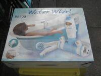 Bath whirlpool attachment.