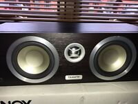 Tannoy Mercury Vci centre channel speaker Dark Valnut