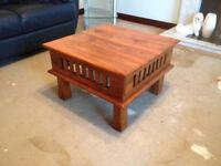 Rustic Pine Side / Coffee Table