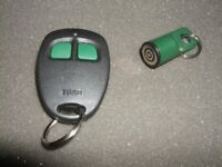 TOAD ALARM REMOTE CONTROL AND TOUCH KEY *PRICE REDUCED*