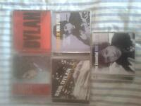 collection of 5 Bob Dylan albums