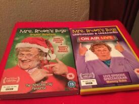 Mrs Browns Boys DVD set - As new