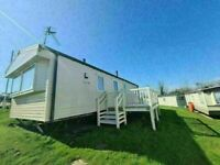 Static caravan for sale £405pm - w/ Decking - 2 bedroom holiday