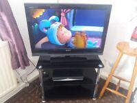 Sony tv+stand+sky box