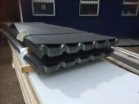 0.7 Plastasol Roofing & Cladding Sheets Anthracite Grey/Black colour
