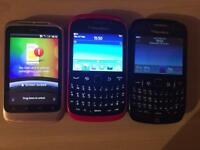 3 x phone bundle (all working)