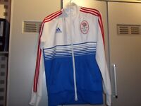Adidas Olympics Team GB Track Top Size Small