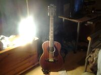 Fender 12 string hellcat electro accoustic ( pick up only