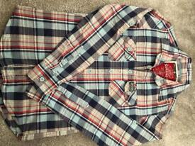 Superdry Checked Shirt Men's Size Small