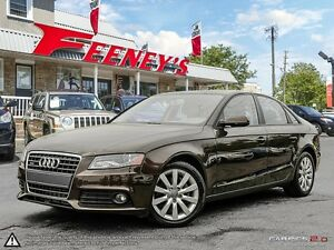 2012 Audi A4 QUATTRO AWD, LEATHER, SUNROOF