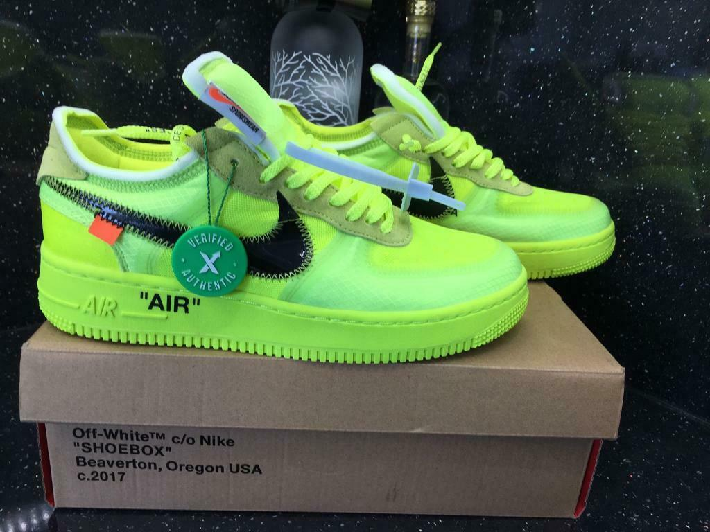 check out fa6de 75d88 Off White Nike Air Force One Low Volt Yeezy | in Coalville, Leicestershire  | Gumtree