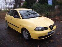 Seat Ibiza 1.2 12v Reference 5dr£1,650 NEW MOT, LOW INSRE TAX, 2 OWNR 2006 (06 reg), Hatchback