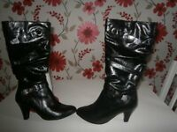 ladies Lotus brand knee high boots very very rarely worn in excellent condition size 3