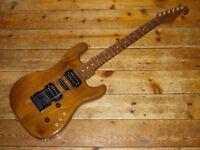 Custom Walnut / Rosewood S type guitar with Kahler USA tremolo
