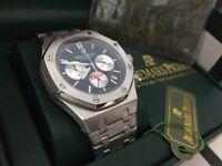 New Swiss Audemars Piguet Royal Oak STAINLESS STEEL CHRONOGRAPH Watch