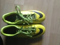 Football boots (used). £10. Only