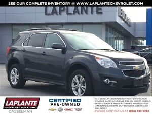 2013 Chevrolet Equinox One Owner + Remote Start + Backup Camera