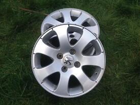 Peugeot 307 Alloy Wheels