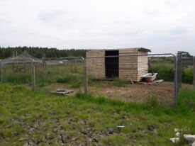 4 acres with stables and barns / smalholding