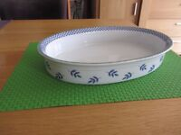 Two Villeroy Boch Serving dishes in the Switch 3 Pattern