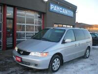 2002 Honda Odyssey| WE'LL BUY YOUR VEHICLE| SAFETEED AND E-TEST