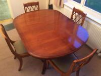 Dining room table and chairs - Bradley Original