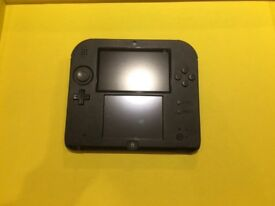 Nintendo 2DS console with 10 games