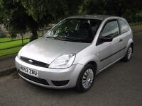 FORD FIESTA 1.2 ( 2003 ) SILVER 3 DR 12 MONTHS MOT + LOTS OF NEW PARTS LOVELY EXAMPLE