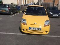 Chevrolet Matiz , Manual , 5 Door, Long MOT , Very Clean Car , Cheap Runner