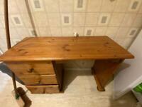Nice wooden desk table drawer
