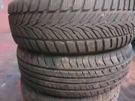 Ssanyoung rodius wheels 4 good tyres