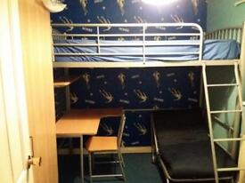 Single bunk with work station