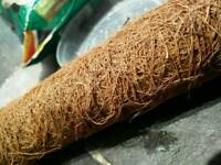plant support pole 90cm coconut fiber