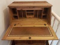Ducal Solid Wood Bureau Writing Desk