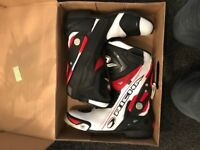 Riches motorbike boots size 10 Brand new