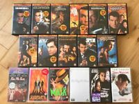 FREE - a selection of VHS videos/films