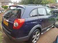 CHEVROLET CAPTIVA LOW MILEAGE 54890 Miles