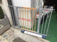 Babydan Avantgarde baby gate with extension kit