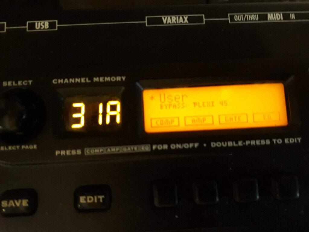 Line 6 POD XT Live Guitar Multi Effects Pedal | in Notting Hill, London |  Gumtree