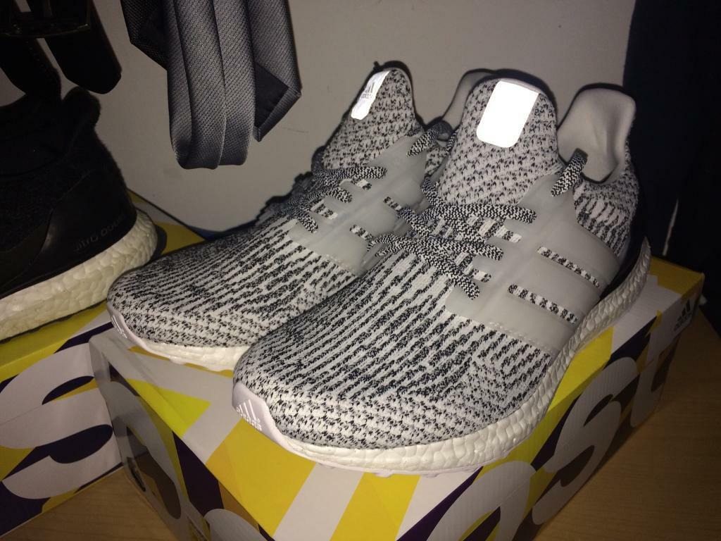Adidas Ultra Boost 3.0 Oreo Black White US SZ 8 13 PK S 80636 nmd