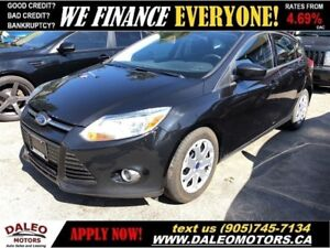 2012 Ford Focus SE|MP3 CAPABILITY | AIR CON| CERTIFIED