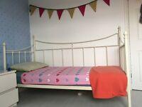 John Lewis Day Bed Metal Frame (excluding mattress)